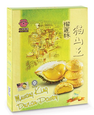 Musang King Durian Pastry 240g